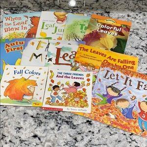 11 Fall Leaves Kids Books